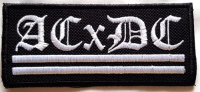 ACXDC - embroidered Logo Patch