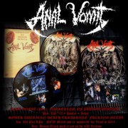 "ANAL VOMIT -12"" Picture LP- Gathering of Putrid Demons"