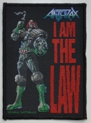 ANTHRAX - I am The Law - woven Patch