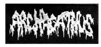 ARCHAGATHUS - embroidered logo Patch