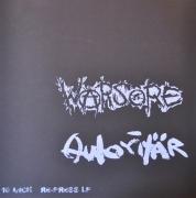 """AUTORITÄR / WARSORE split 12"""" LP  (Purple splatter Vinyl)"""