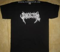 BENEDICTION - Logo - black T-Shirt