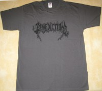 BENEDICTION - Logo - grey T-Shirt
