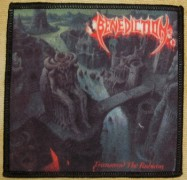 BENEDICTION - Transcend The Rubicon - gedruckter Aufnäher