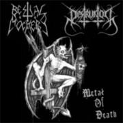 """BESTIAL MOCKERY / DESTRUKTOR -10"""" MLP- Split """"Metal Of Death"""""""