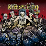 BIRDFLESH - Gatefold 12'' LP - Night of the Ultimate Mosh (RED Vinyl)
