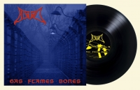 BLOOD - 12'' LP - Gas Flames Bones (black Vinyl)