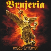 "BRUJERIA - 7"" EP - Angel Chilango (red Vinyl)"