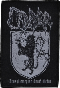 CADAVER - True Norwegian Death Metal - woven Patch
