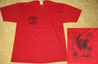 CAPTAIN 3 LEG - red T-Shirt - size XL (2nd Hand)