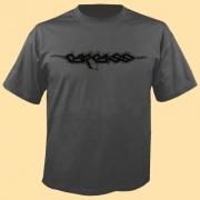 CARCASS - Logo - grey T-Shirt - size XXL