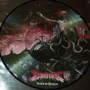 "COFFINS -12"" Picture LP- March of Despair"