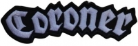 CORONER - Logo - cutted embroidered Patch