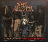 CRYPTIC SLAUGHTER - CD + DVD Digibox - The Lowlife Chronicles - Cryptic Slaughter 1984-1988