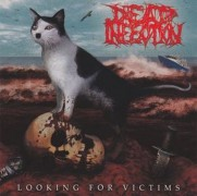"DEAD INFECTION / PARRICIDE -SPLIT 7"" EP- Looking for Victims / The Idealist"