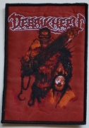 DEBAUCHERY - Butcher of Bitches - woven Patch