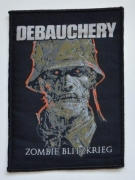 DEBAUCHERY - Zombie Blitzkrieg - woven Patch