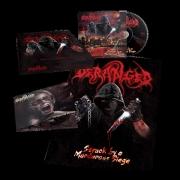 DERANGED - BOX-SET 2x Digipak CD - Struck By A Murderous Siege + Postmorterm Rituals (+ Poster, Patch)