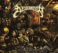 DESECRATION (USA) -DIGIPAK 4CD + 1DVD BOX- Dead Yet, Not Forgotten