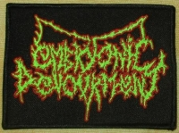 EMBRYONIC DEVOURMENT - gestickter Patch