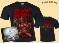 Bundle: ENEMA SHOWER - Sadomazoo - CD + T-Shirt Size XL
