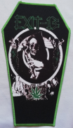 EXIT 13 - High Life Coffin - Backpatch