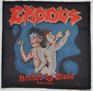 EXODUS - Bonded By Blood - woven Patch