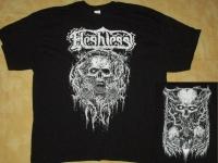 FLESHLESS -  Demon black-white- T-Shirt size XXL