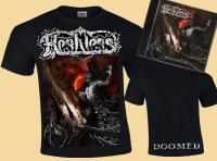 """Bundle: FLESHLESS - Doomed - T-Shirt + """"Doomed"""" CD"""