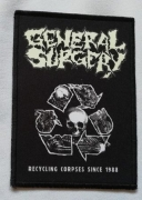 GENERAL SURGERY - Recycling Corpses - printed Patch