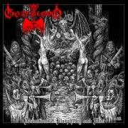 """GOATBLOOD - 12"""" LP - Adoration of Blasphemy and War (Red Vinyl)"""