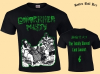 GONORRHEA PUSSY - Cunt Concert - T-Shirt size XL