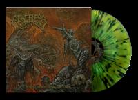 GRACELESS - 12'' LP - Where Vultures Know (Swamp Green Yellow Black splatter Vinyl)