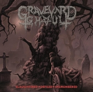 GRAVEYARD GHOUL - CD - Slaughtered - Defiled - Dismembered (+ woven G.G. PATCH)