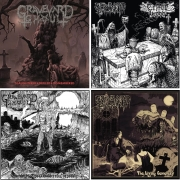 GRAVEYARD GHOUL - CD Bundle A - 4 CDs