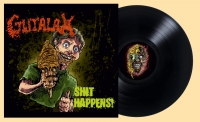 GUTALAX - 12'' LP - Shit Happens (reissue Black Vinyl)