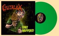 GUTALAX - 12'' LP - Shit Happens (reissue Green Vinyl)