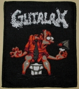 GUTALAX - Last Paper - gewebter Patch