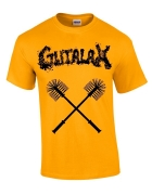 GUTALAX - toilet brushes - gold T-Shirt size L