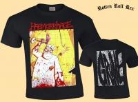 HAEMORRHAGE - Grume - BLACK - T-Shirt Size XL