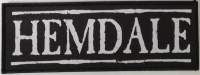 HEMDALE - large Logo - printed Patch