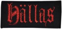 HÄLLAS - Logo - woven Patch