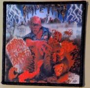 IMPETIGO - Horror of the Zombies - printed Patch