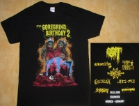 """ITs A GOREGRIND BIRTHDAY 2"" - T-Shirt size L"