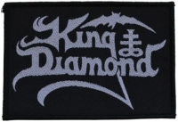KING DIAMOND - Logo - woven Patch