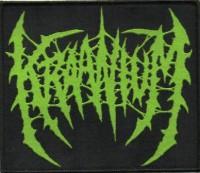 KRAANIUM - Gewebter Aufnäher - Logo