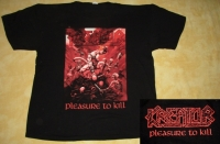 KREATOR - Pleasure to Kill - T-Shirt - size XL (2nd Hand)