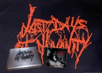 LAST DAYS OF HUMANITY - TIN-BOX CD POSTERFLAG EDITION - Horrific Compositions of Decomposition