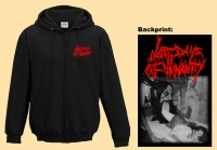 LAST DAYS OF HUMANITY - embroidered Logo - Zipper  (Releasedate: 01.march 2021)