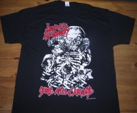 LAST DAYS OF HUMANITY - Gore and Carnage - T-Shirt Size L